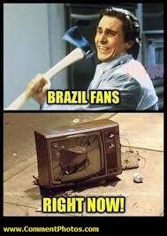 Brazil Fans Right Now - American Psycho Meme - Christian Bale ... via Relatably.com