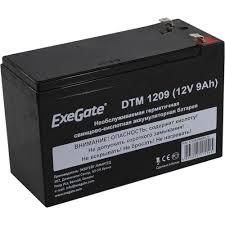 Аккумулятор для ИБП 12V 9Ah <b>Exegate</b> DTM 1209 — купить, цена ...