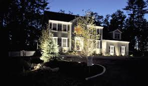 enjoy your patio and garden with a well designed lighting system trees flower beds stone and brick walls exterior stairways a pool or pond area lighting flower bed