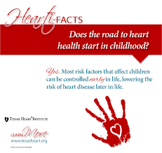 heart disease risk factors for children and teenagers texas heartifacts childhood