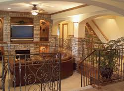 Finished Basement Home Plans   House Plans and Morephoto of finished basement  ViewthisPlan  Finished basements in a house