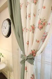 Floral curtains. | Floral curtains, Curtains, Rose curtains