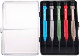 6 Pcs Screwdriver Set Size 21x11.7cm White Micro Precision <b>Multi</b> ...