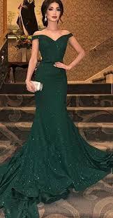 <b>2019</b> 的 <b>Elegant Arabic Dark</b> Green Sequined Mermaid Evening ...