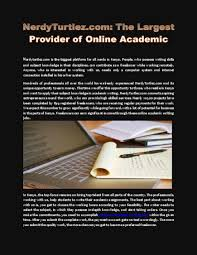 nerdyturtlez com the largest provider of online academic writing nerdyturtlez com the largest provider of online academic writing jobs in