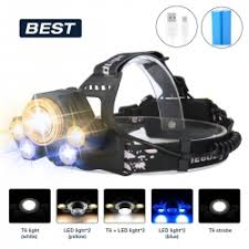 LED Headlamp ,SGODDE <b>5 Modes</b> Headlight ,<b>USB Rechargeable</b> ...