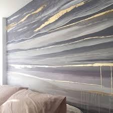 Bedroom <b>Mural</b> by Dana Mooney. This <b>hand painted mural</b> is ...