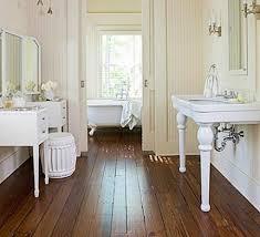 bathroom flooring wood floor