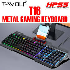 <b>T Wolf</b> Gaming Keyboard Price & Promotion - Mar 2021| BigGo ...