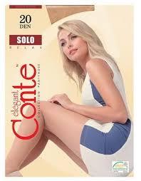 <b>Колготки Conte Solo</b> 20 (прозрачные, с шортиками) - купить в ...