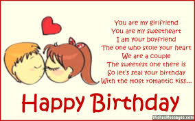 Birthday Poems for Girlfriend | WishesMessages.com