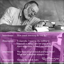 「文豪ヘミングウェーと執筆」の画像検索結果