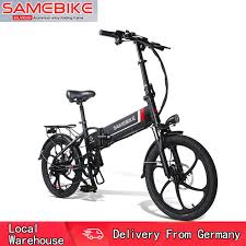 Samebike 20LVXD30 Smart Folding Electric Moped Bike E-bike ...