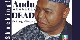 Image result for How APC Guber Candidate, Abubakar Audu Of Kogi, Died