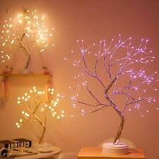 Lighting UK <b>LED Branch Lamp</b> Floor Stand Tree Light Warm White ...