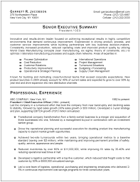 resume templates executive template resume format for it manager