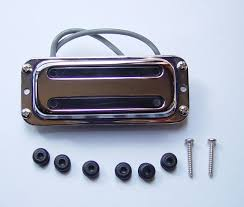 the rickenbacker page parts 00030 pickup vintage toaster bridge mid neck chrome 7 4k output scatterwound