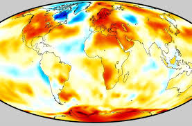 Red <b>hot</b> planet: This <b>summer's</b> punishing and historic heat in 7 maps ...