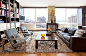 room brown leather furniture decorating ideas  sofa integrates perfectly view in gallery here the brown leather