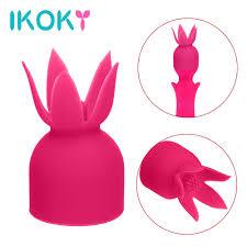 IKOKY <b>Vibrator Accessories</b> Clitoris <b>Stimulation</b> Magic Wand ...