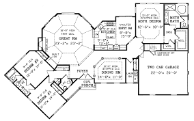 Birney Ranch Home Plan D    House Plans and MoreVictorian House Plan First Floor   D    House Plans and More
