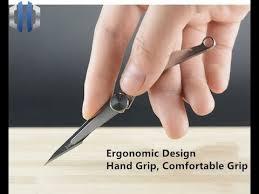 Mini <b>Titanium Alloy</b> Folding <b>Utility Knife</b> Surgical Blade EDC Tools ...