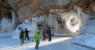 Image result for apostle islands ice caves photos