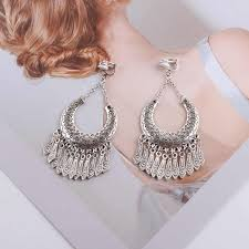 <b>JIOFREE</b> 2018 Fashion Jewelry Wholesale <b>Vintage</b> Bohemia clip on ...