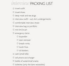 a little bit of lacquer interview packing list above is a checklist for packing that i hope you can useful would love to hear about travel necessities and things you bring on interviews in the