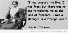 Harriet Tubman on Pinterest | Underground Railroad, Shawl and Pistols via Relatably.com