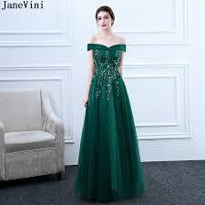 JaneVini <b>Elegant Dark Green</b> A Line Mother of The Bride Dresses ...