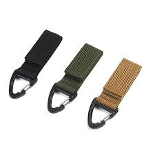<b>Outdoor Tactical</b> Webbing Molle Key Hook Hanging Belt Buckle ...