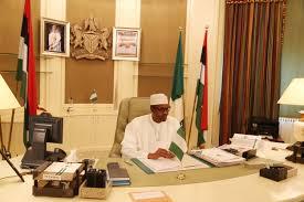 photos president buhari resumes in his office at aso villa news buhari1