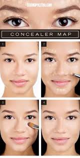 makeup artist sara biria is here to show and tell exactly how to get a perfect plexion just by following this concealer map