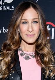 Sarah Jessica Parker  - 2019 Light blond hair & beachy hair style.