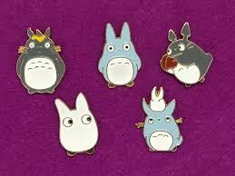 <b>5 Pcs</b>. Totoro Enamel Pin Set Japanese <b>Character</b> Pins   Etsy