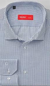 Купить <b>Рубашка мужская VESTER 68814</b>-13sp-20 с примеркой