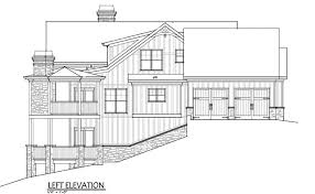 Rustic Mountain House Floor Plan   Walkout Basementmountain home house plan   garage rivers reach