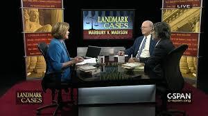 supreme court landmark case marbury v madison video c span org