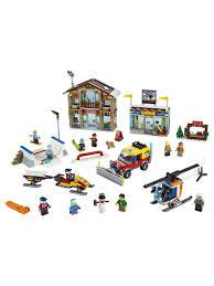 <b>Конструктор LEGO City Town</b> 60203 Горнолыжный курорт LEGO ...