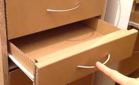 how to make a cardboard drawer cardboard furniture youtube card board furniture