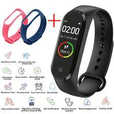 Gt98 الرياضة سوار ساعة ذكية Oled شاشة ملونة Ip67 <b>Smartwatch</b> ضغط ...