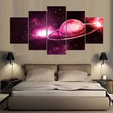 <b>YSDAFEN 5 Panel Modern</b> Uranus Hd Canvas Art for Living Room ...