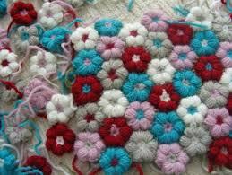 puffy flower crochet