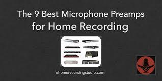 9 лучших микрофонных <b>предусилителей для</b> домашней ...
