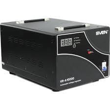 <b>Стабилизатор напряжения SVEN VR-A 10000</b> Черный — купить в ...