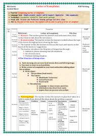 ms level letter of complaint