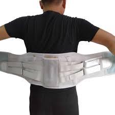 Adjustable Neoprene Waist Corset <b>Large Size Back</b> Belt <b>Back</b> Brace ...