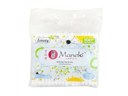 <b>Палочки ватные</b> Maneki, Lovely в zip-пакете, 100 шт. купить в ...