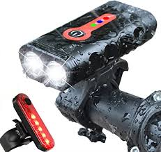 BurningSun Bike Light Set 5 Mode 1000 Lumens ... - Amazon.com